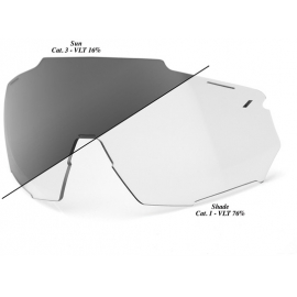 Racetrap Replacement Lens - Photochromic Clear/Smoke