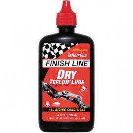 Teflon Plus Dry Chain Lube 4 oz / 120 ml Bottle
