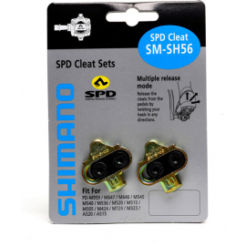 SH56 MTB SPD cleats multi-release