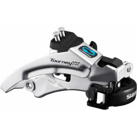 FD-TX800 Tourney TX front derailleur  top swing  dual pull  for 42/48T  63-66