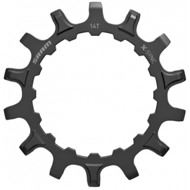 CHAIN RING X-SYNC SPROCKET FOR BOSCH MOTORS STRAIGHT STEEL BLACK: