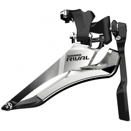 SRAM RIVAL22 FRONT DERAILLEUR YAW BRAZE-ON WITH CHAIN SPOTTER: