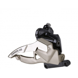 SRAM X0 FRONT DERAILLEUR - 2X10 LOW DIRECT MOUNT S1 39T BOTTOM PULL:  10SPD DIRECT MOUNT